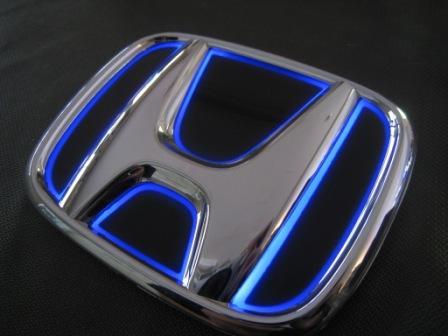 ステップワゴン LEDトランスエンブレム RG1/2/3/4 05.05~09.09 フロント スリムVer Junack/ジュナック (LTE-H1