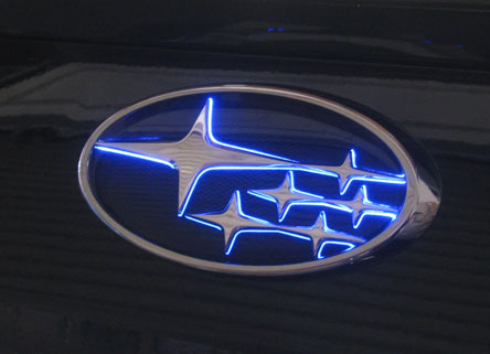 インプレッサ LEDトランスエンブレム GJ2/3/6/7 11.12~16.09 フロント スリムVer Junack/ジュナック (LTE-S7
