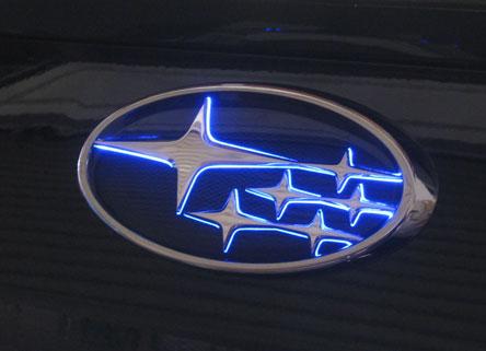 ジュナック LEDエンブレム インプレッサ LEDトランスエンブレム GE2 GE3 GE6 GE7 08/10-11/12 フロント Junack/ジュナック (LTE-S1