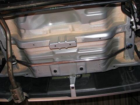 パッソ モノコックバー 10系 リヤモノコックバー カワイワークス (TY1180-MOR-00
