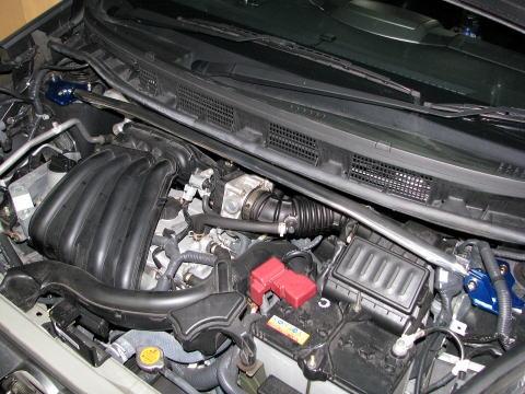 ノート ストラットバー E11 フロントストラットバー typePG カワイワークス (NS0740-FTP-00