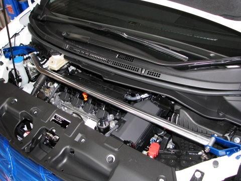 ステップワゴン ストラットバー RK1-4 09/10~ フロントストラットバー typeOS カワイワークス (HN0860-FTO-00