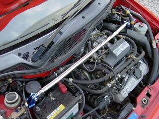 トゥデイ ストラットバー JA4 フロントストラットバー typeSTD カワイワークス (HN0290-FTS-00