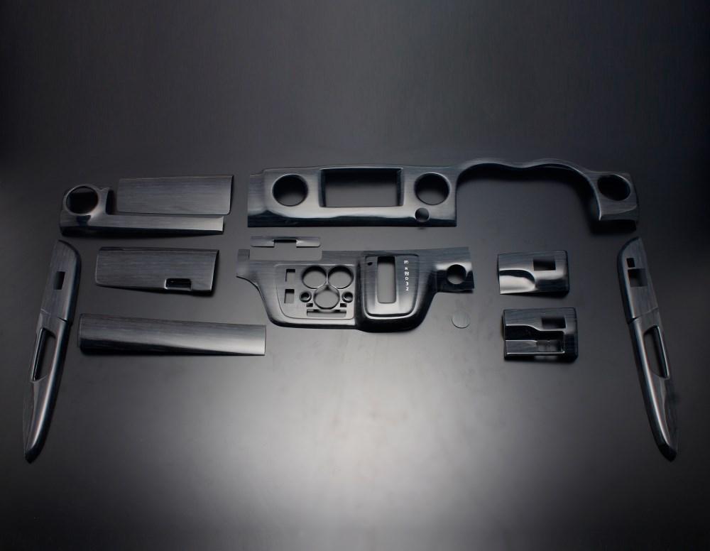 NV350キャラバン インテリアパネル 12P E26 2012/6- 黒木目 LUNA/ルナ (PLNV350BW