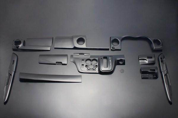 NV350キャラバン インテリアパネル 13P E26 2012/6- ピアノブラック LUNA/ルナ (PLNV350WPB
