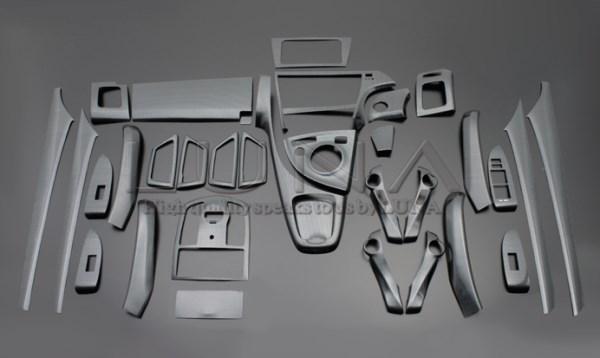 プリウス インテリアパネル 33P 30系 2009/5-2015/12 ブラックカーボン調 LUNA/ルナ (PLT636-039