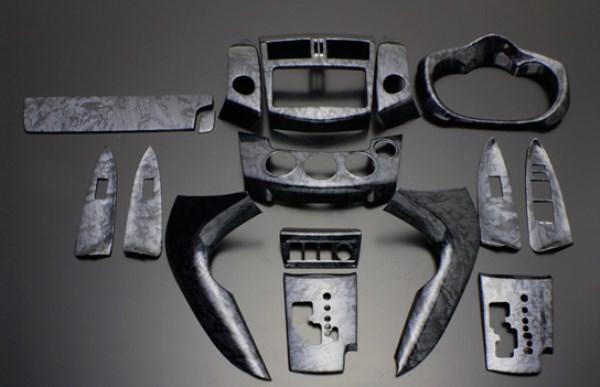 ヴァンガード インテリアパネル 16P 30系 2007/8-2013/11 黒木目 LUNA/ルナ (PLT864