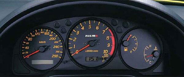 シルビア コンビネーションメーター S15 MT車 ブラック NISMO/ニスモ (24810-RNS50