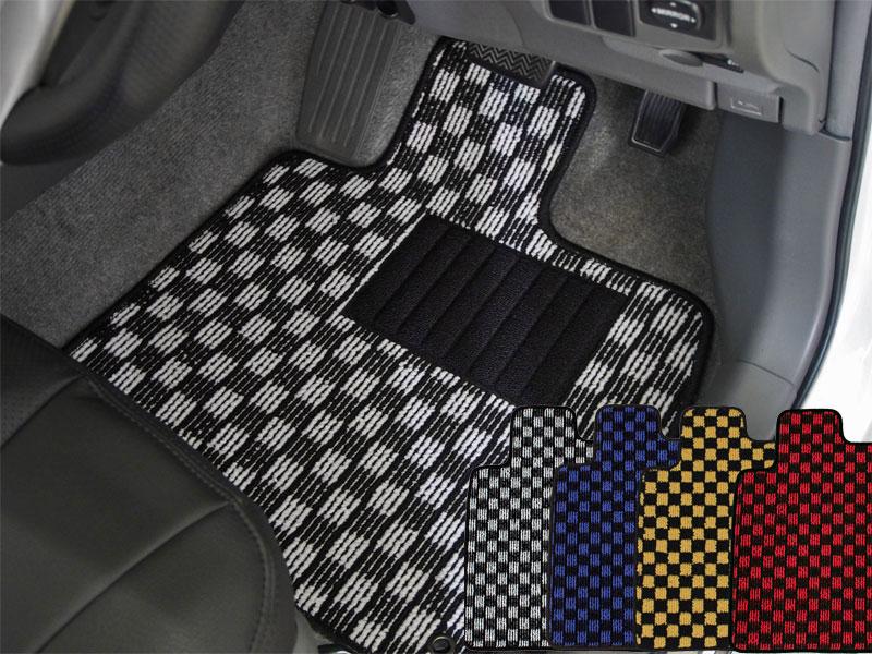 フロアマット レガシィツーリングワゴン BH系 チェック柄(022SB