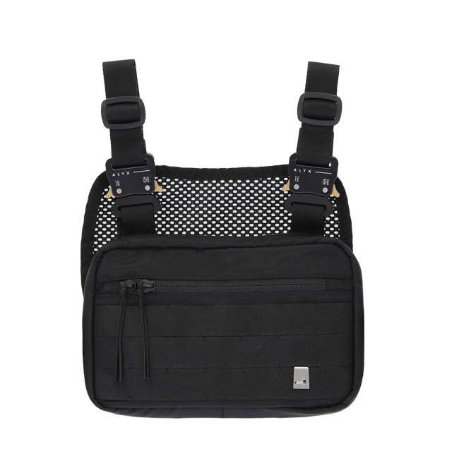 1017 ALYX 9SM バッグ CHESTBAG アリクス チェストバッグ ミニ チェストリグ MINI MILITARY CHEST RIG (001 / BLACK)【AAUCB0003A001】