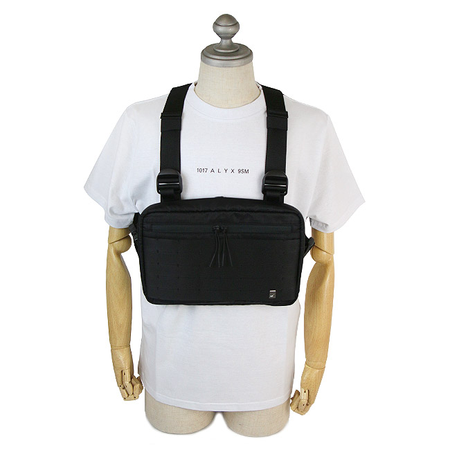 1017 ALYX 9SM バッグ アリクス バッグ チェストバッグ クラシック  CLASSIC CHEST RIG (001 / BLACK)【AAUCB0008A001】