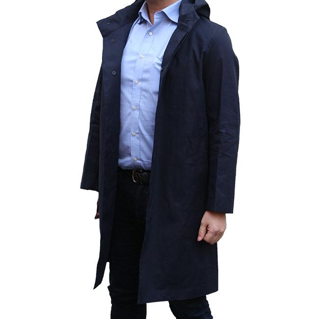 マッキントッシュ コート MACKINTOSH CHRYSTON クリストン RAINTEC コットン フーデッドコート メンズ コットン【GM-1003FD】