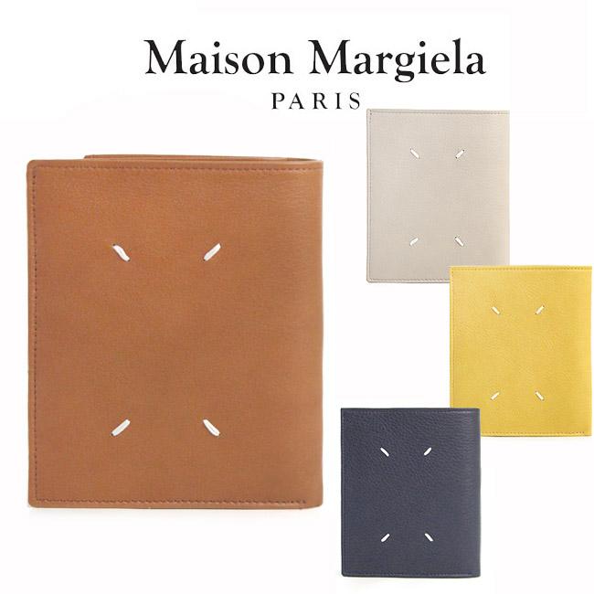 MAISON MARGIELA メゾンマルジェラ 財布 二つ折り財布 レザー(全4色)【S55UI0188 PR516】