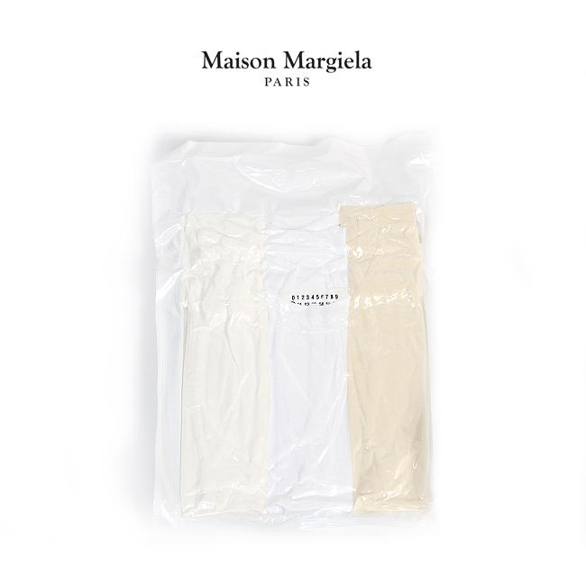 MAISON MARGIELA パックT メゾンマルジェラ Tシャツ 無地 半袖 メンズ Pack of 3 T-shirts 【S50GC0552-S22431】2020春夏商品