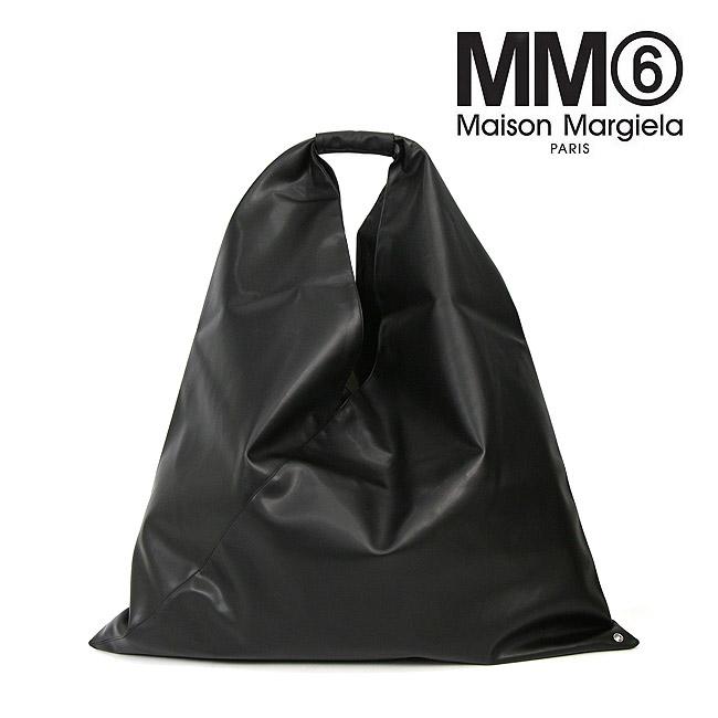 メゾン マルジェラ MM6 MAISON MARGIELA トライアングルバッグ MM6 バッグ MAISON MARGIELA エムエムシックス メゾンマルジェラ トライアングル トートバッグ (T8013 BLACK)MAXI ICONIC BAG【S41WD0034-P2260】
