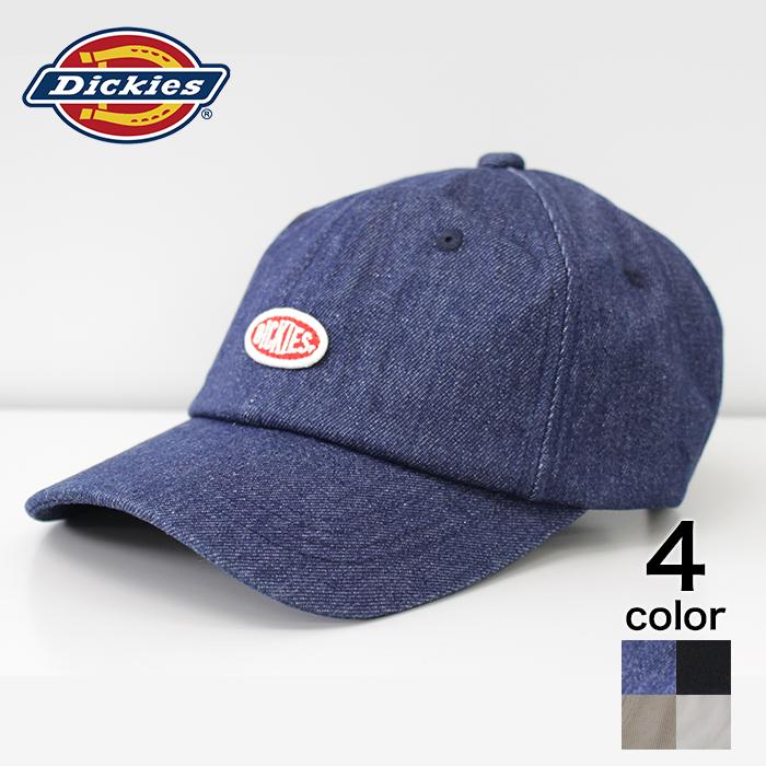 Dickies ディッキーズ ワッペンローキャップ 贈物 帽子 キャップ かわいい メーカー在庫限り品 ワークブランド おしゃれ ローキャップ