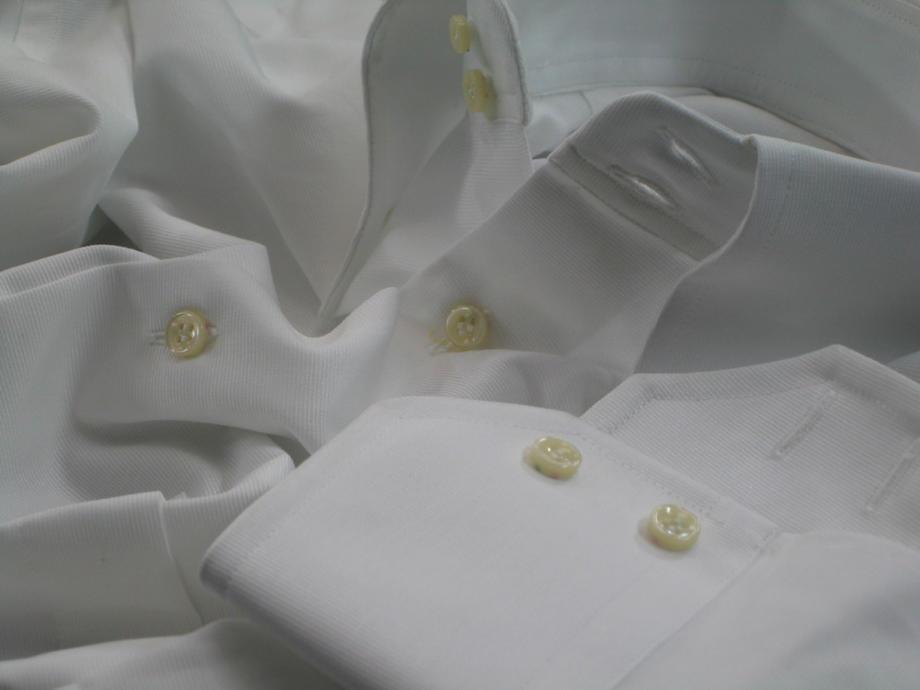 ★表示価格より10%OFF★イタリアシャツ白 DANROMA ドゥエボットーニ BURANO BIANCA