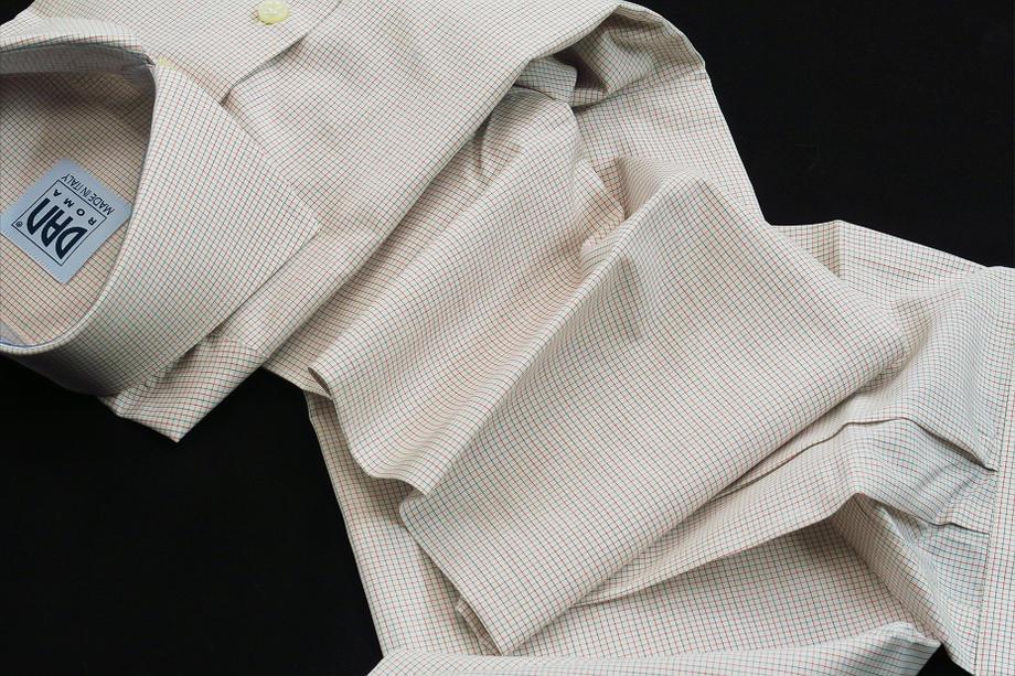 ★表示価格より50%OFF★イタリアシャツDANROMAワイドカラーシャツ DOVER_160_60★140番手双糸の調べ♬~ 品質の良さが男の色気を惹きたてます