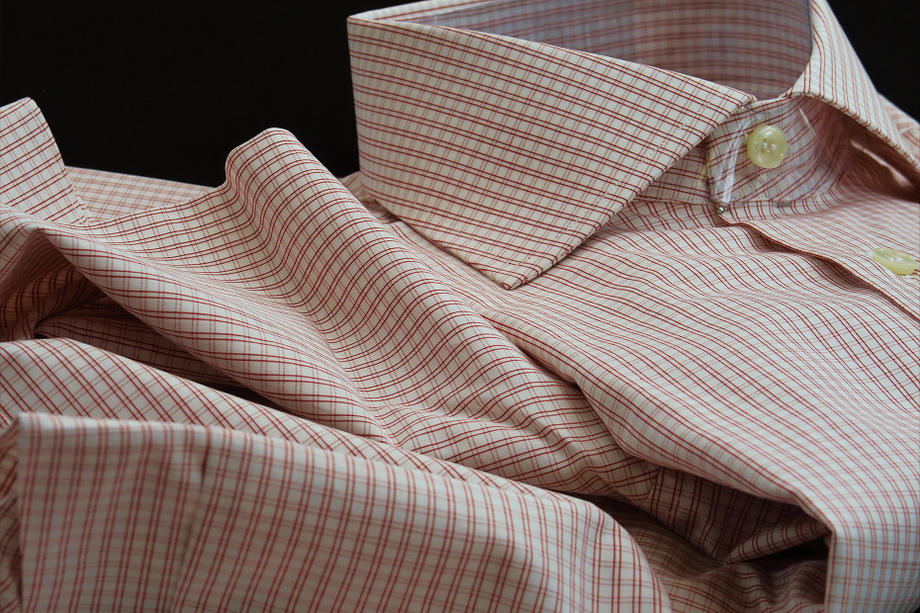 ★現品限定10月限りの特別価格★イタリアシャツDANROMAワイドカラーシャツ DOVER_F18-60★140番手双糸の調べ♬~ 品質の良さが男の色気を惹きたてます