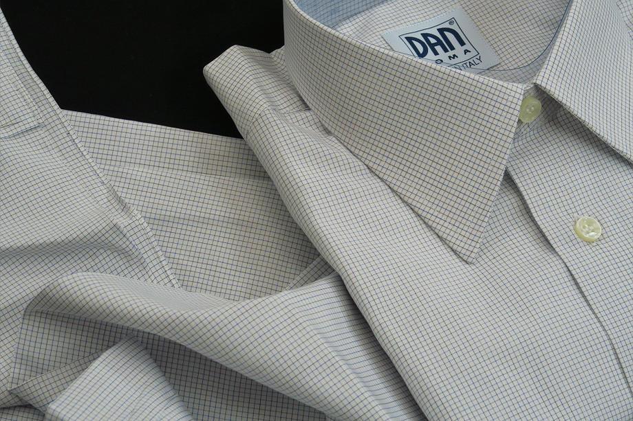 ★表示価格より50%OFF★イタリアシャツDANROMA COLLO REGORALE DOVER_F_16_48★140番手双糸の調べ♬~ 品質の良さが男の色気を惹きたてます