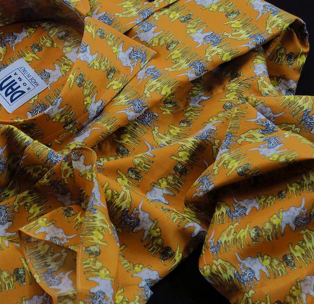 イタリアシャツSPORTIVO DANROMA COLLO APERTO MORBIDO ソフトカラーワイド FACEBOOK53_C サファリ limited EDITION LIMITED cotton in SU edition voile スピード対応 特別セール品 全国送料無料 MISURA 少数限定品です