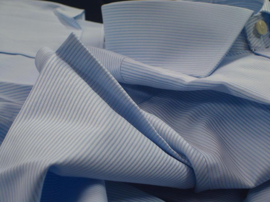 ★表示価格より40%OFF★イタリアシャツブルーDANROMAワイドカラーシャツ華麗なる MOMA 745_53