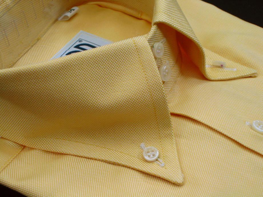 ★表示価格より50%OFF★ロイヤルオックスフォード秋冬にもお勧めできる黄色です!ORTA CASTELLO GIALLO