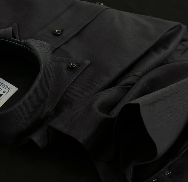 ★表示価格より10%OFF★イタリアシャツ専門店 DAN ROMA 直輸入ボタンダウンドゥエボットーニ OXFORD ORTA CASTELLO NERO 70231/70フロント前立て D'AVANTI CANNELLO