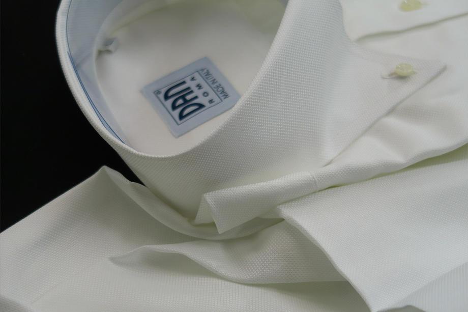 ★表示価格より10%OFF★イタリアシャツ DANROMA 直輸入ドゥエボットーニシャツ SIRIO BIANCA_0299_299