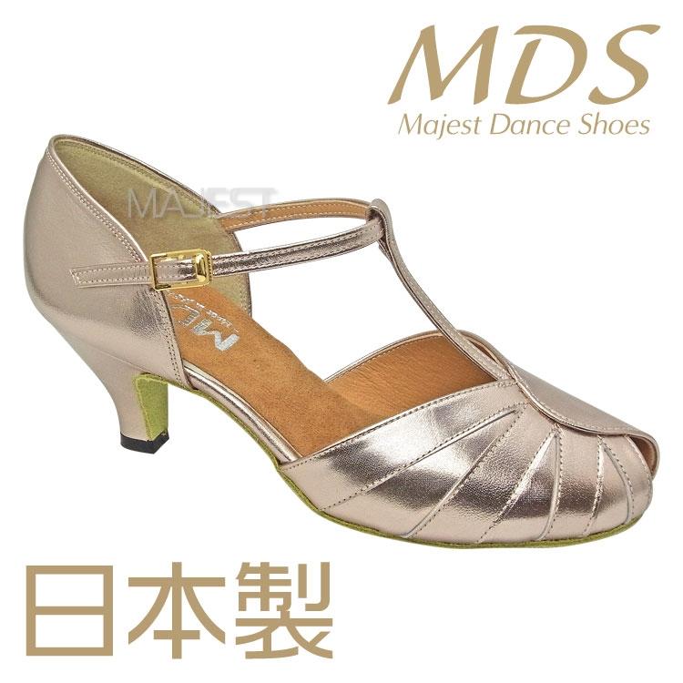 MDS ダンスシューズ 日本製 ソフトクッション 女性 LS 兼用 シューズ【送料無料】【サイズ交換送料無料】(K3-63-63)踊りやすい 高品質 国産 made in japan 社交 ダンス 靴 レディース MAJEST マジェスト ダンスシューズ エーディーエス 合同会社