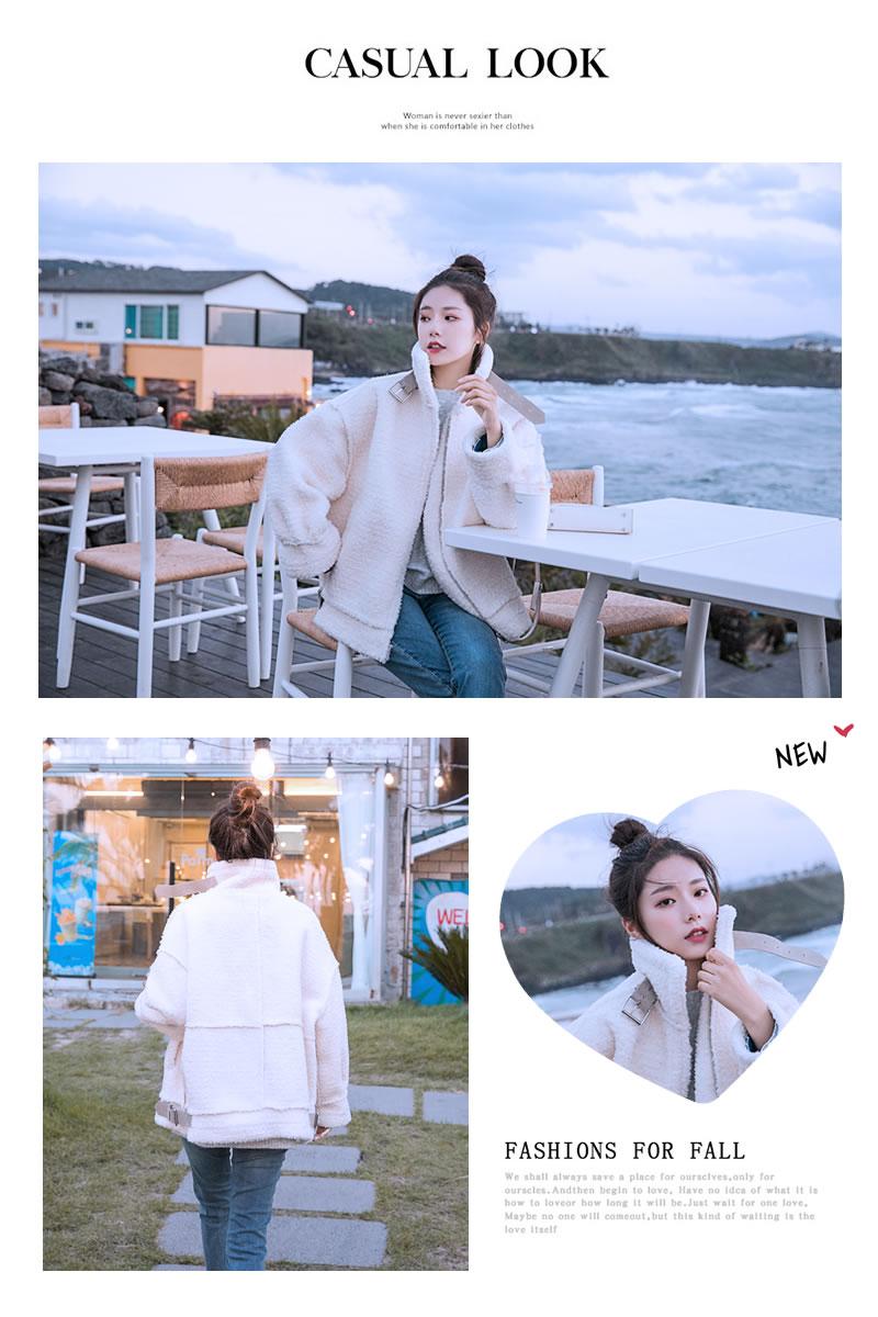 冬 ムスタン オルチャンファッション 韓国服 フェイクムートン