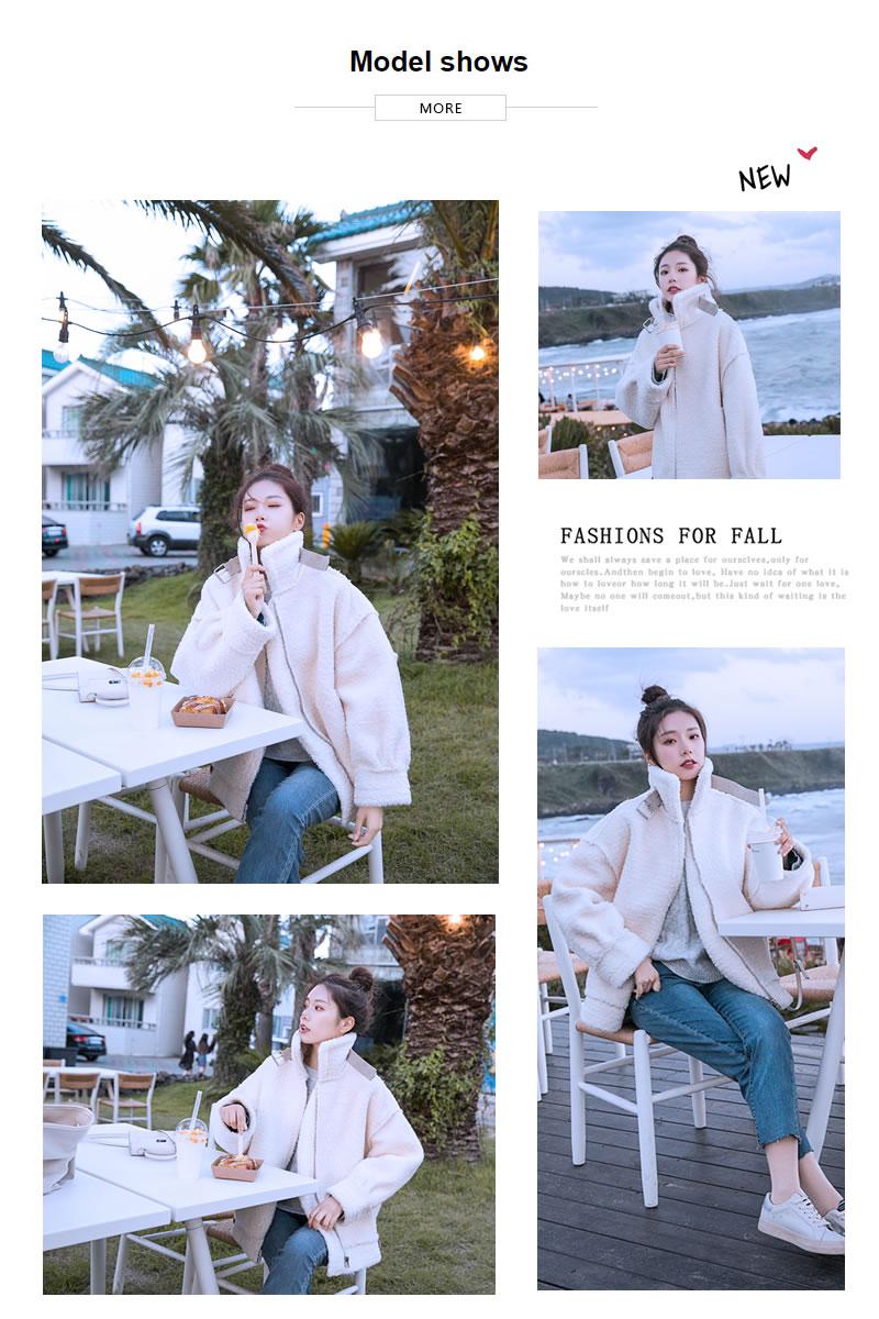 オルチャンファッション 韓国ファッション レディース もこもこ