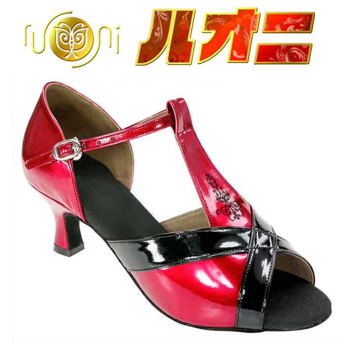 本州送料無料【サイズ交換可】社交ダンスシューズ ラテン 女性 /GL3237-A 女性ラテンシューズ(兼用)