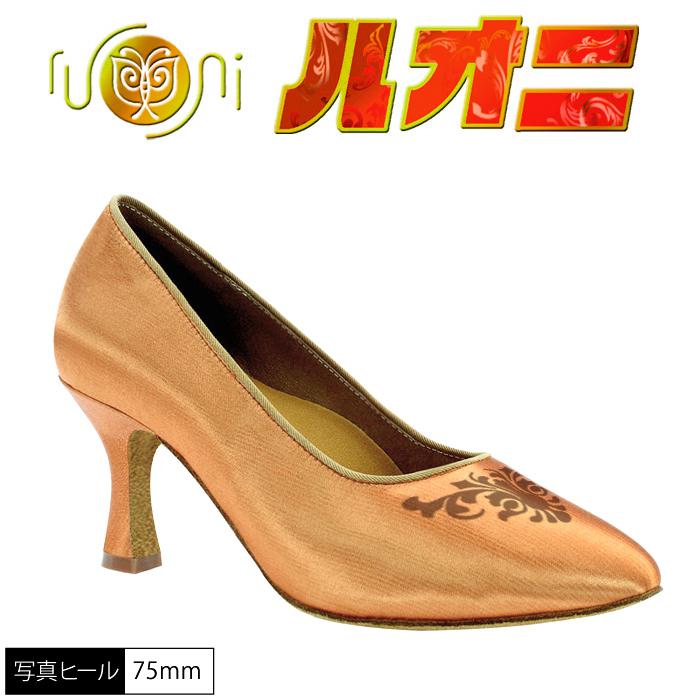 社交ダンス 【サイズ交換可】シューズ モダン 女性 /GN1075-A ルオニダンスシューズ   monishan