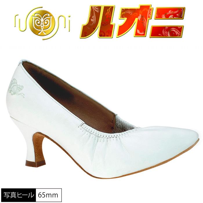 本州送料無料【サイズ交換可】社交ダンスシューズ ダンスシューズ白/GN1103
