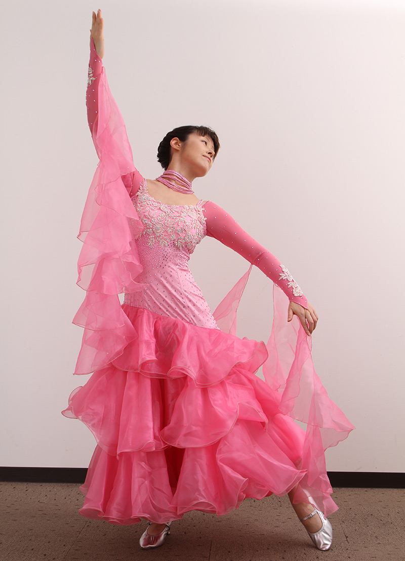 ダンスドレス モダン DWQ-MD8-1《即納品》 ダンスパーティー 衣装 ダンス衣装 社交ダンス モダン 女性 ドレス ダンスシューズのモニシャン