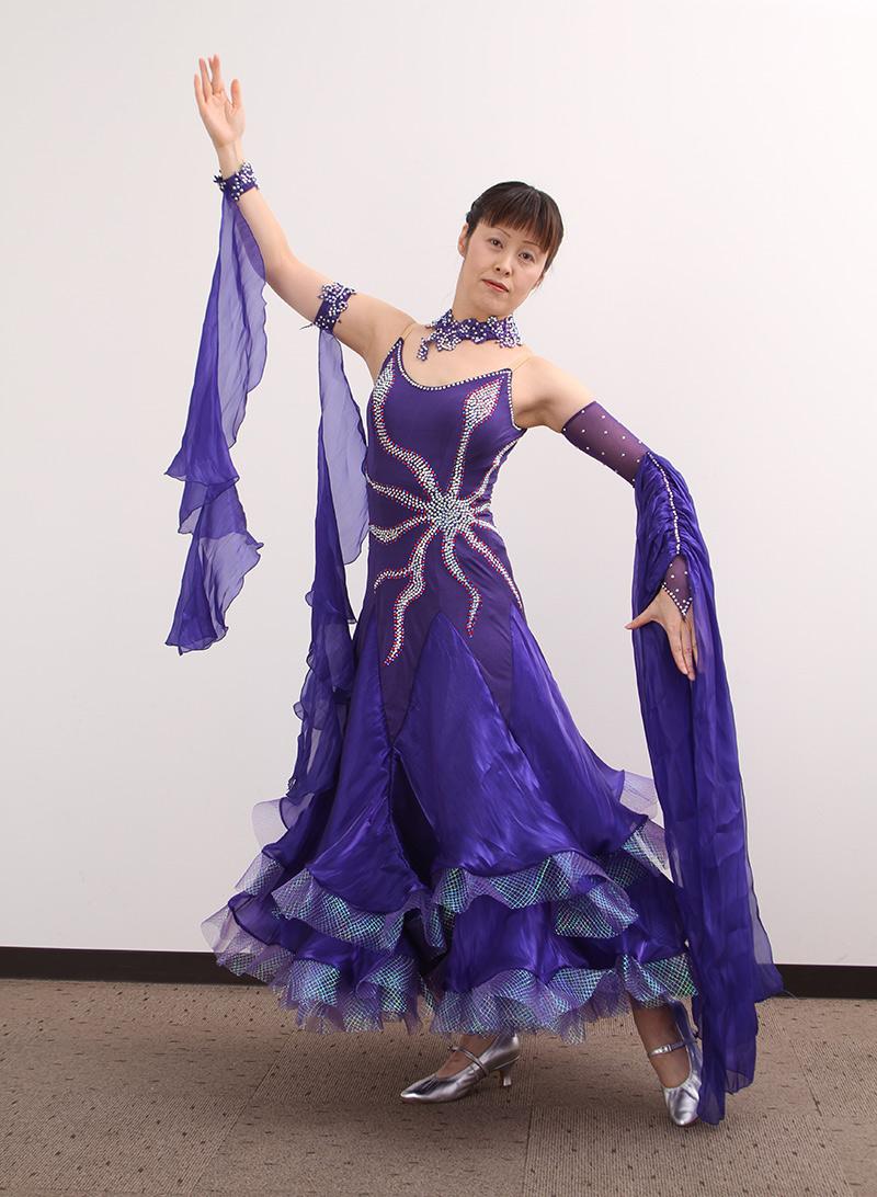 ダンスドレス モダン WQ-MD1-1 本州送料無料 オーダードレス ダンスパーティー 衣装 ダンス衣装 社交ダンス モダン 女性 ドレス ダンスシューズのモニシャン