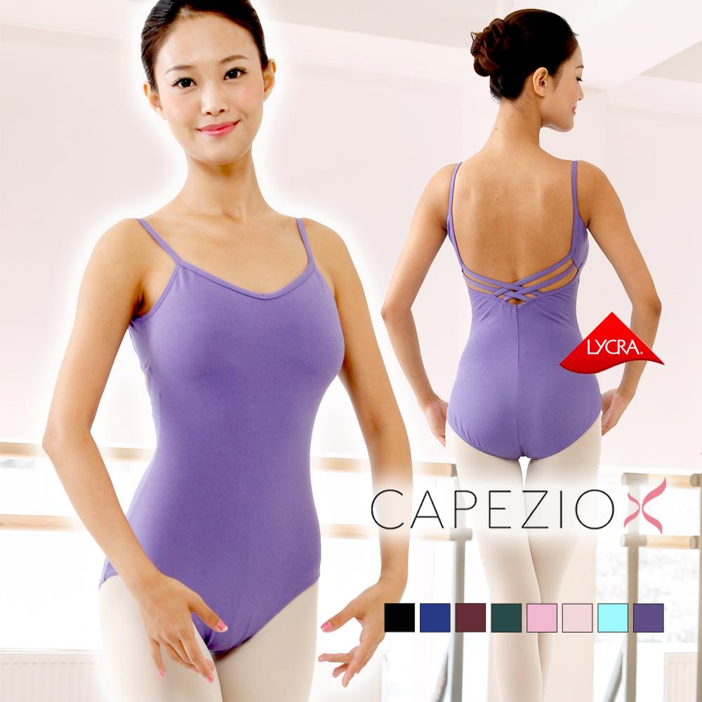 6101cb47b dancenets  No Leotard adult Ballet capezio V neck Camisole Leotard ...