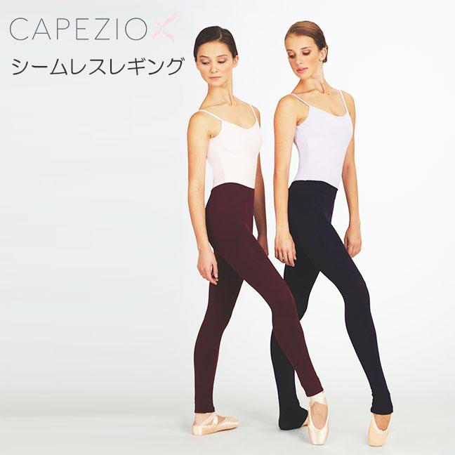 """Capezio 无缝紧身衣 3009""""紧身衣舞蹈紧身衣可转换紧身衣芭蕾舞爵士乐现代瑜伽成人初级芭蕾舞舞蹈用品紧身衣舞蹈鞋绑腿紧身裤会议店乐天。"""