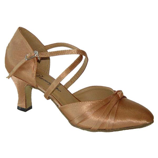 ダンスシューズ・社交ダンスシューズ・レディース【セミオーダー】女性兼用シューズ・ベージュ683604セミオーダー品ですのであなたにぴったりの1足がつくれますよ♪