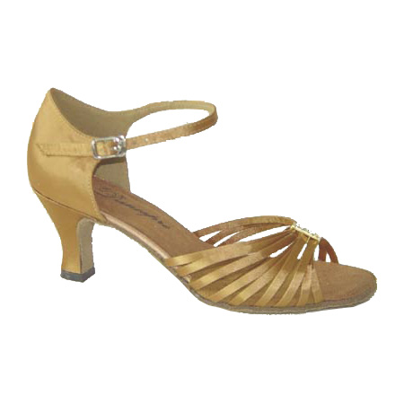 ダンスシューズ・社交ダンスシューズ・レディース【セミオーダー】女性ラテンシューズ・ベージュ171202セミオーダー品ですのであなたにぴったりの1足がつくれますよ♪