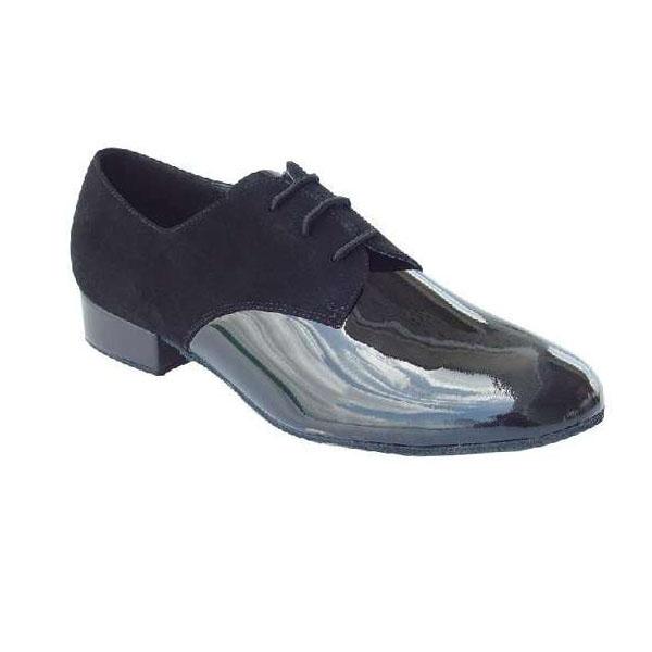 ダンスシューズ・社交ダンスシューズ・メンズ【セミオーダー】男性モダンシューズ・黒ブラック250802セミオーダー品ですのであなたにぴったりの1足がつくれますよ♪