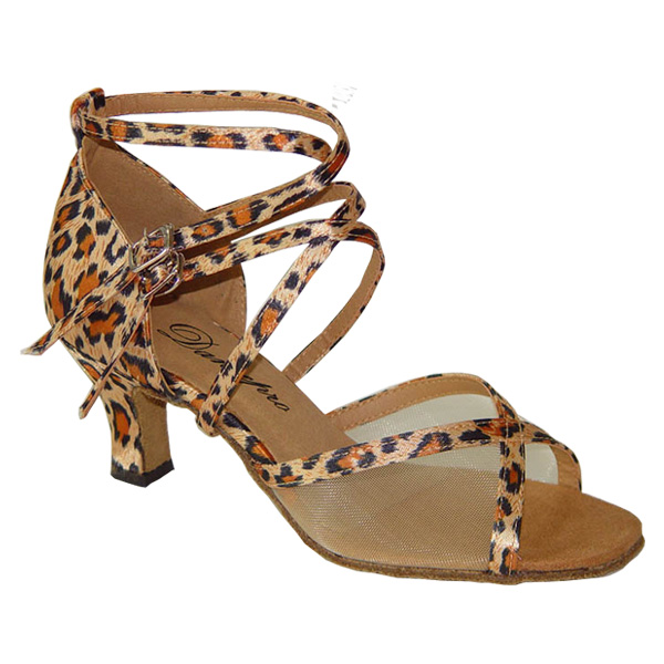 c247d5de5 I can pair dance shoes, ballroom dance shoes, ladies Latin shoes, Leopard  print