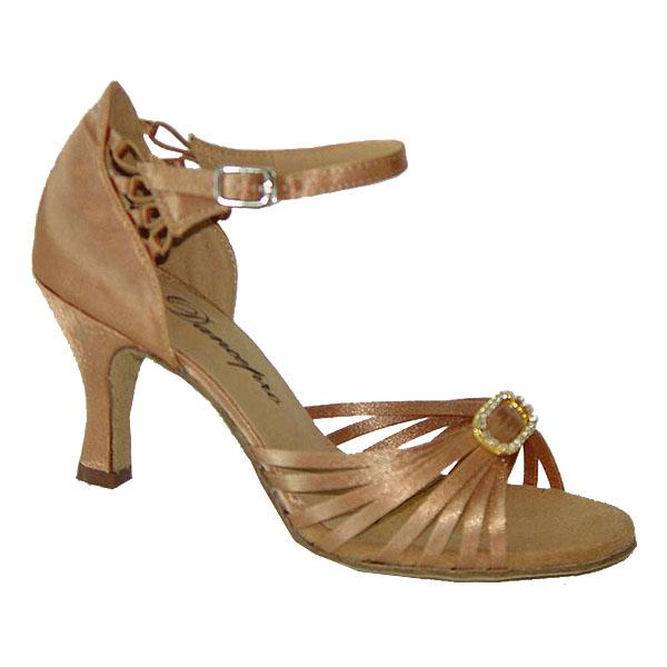 ダンスシューズ・社交ダンスシューズ・レディース【セミオーダー】女性ラテンシューズ・ベージュ167101セミオーダー品ですのであなたにぴったりの1足がつくれますよ♪