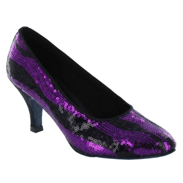 ダンスシューズ・社交ダンスシューズ・レディース【セミオーダー】女性モダンシューズ・紫パープル680118セミオーダー品ですのであなたにぴったりの1足がつくれますよ♪