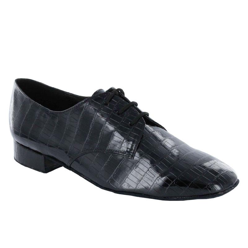 ダンスシューズ・社交ダンスシューズ【限定】・メンズ【セミオーダー】男性モダンシューズ・黒ブラック917507セミオーダー品ですのであなたにぴったりの1足がつくれますよ♪