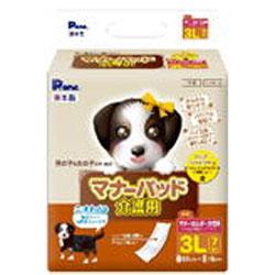 犬用 12個セット 第一衛材 マナーパッド 介護用 再再販 男女兼用 おむつ 取寄商品 3L 超激安特価 7枚入x12個セット ナプキン
