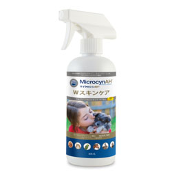 P マイクロシン 被毛ケア スプレー マイクロシンAH Wスキンケア 500ml Microcyn 取寄せ商品 涙やけ 初売り 肉球ケア 一部予約 犬 猫用