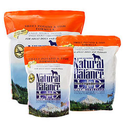 ナチュラルバランス スウィートポテト&フィッシュ 24ポンド(12ポンド×2袋/10.9kg) [ ドッグフード 全年齢用 全犬種 NaturalBalance ]