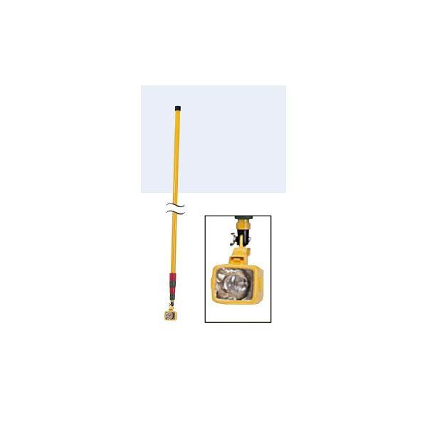 工具 点検用ミラー用ライト ASパワーライト(5m)  5 298188 取手長:4920mm(最大)